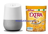 Logo Con Kellogg's Extra vinci 179 Google Home (valore 149€ ciascuno)