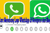 Cara Memasang Logo WhatsApp di Wordpress dan Blogger untuk Pesan