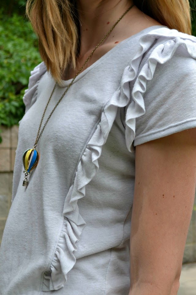 Me Made: Ruffle Tee DIY