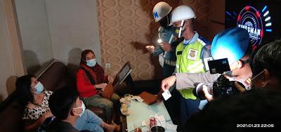 Propam Polda NTB Gelar Operasi Gaktibplin ke Tempat Hiburan Malam