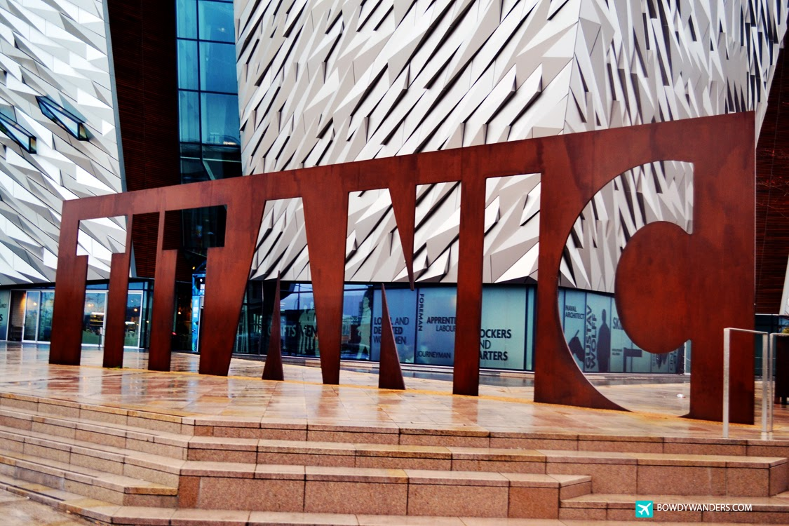 bowdywanders.com Singapore Travel Blog Philippines Photo :: Northern Ireland :: Titanic, Belfast: Most Beautiful Photos I Took Of Northern Ireland's Titanic Store