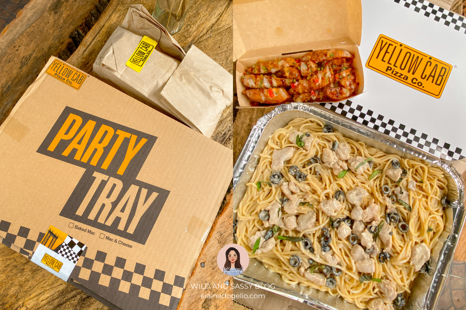 Yellow Cab Releases New Sloppy Wedges and Pasta Party Trays