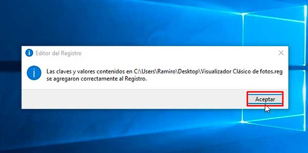 reparar visualizador de fotos de windows 10