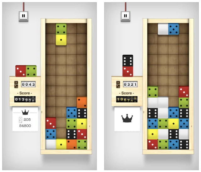 Download Domino Drop for free this week. This week Apple Store has highlighted Domino Drop, a puzzle game by Vitalii Zlotskii as 'Free App of the Week