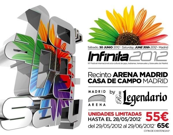 Infinita 2012 en el Pabellón Arena de la Casa de Campo