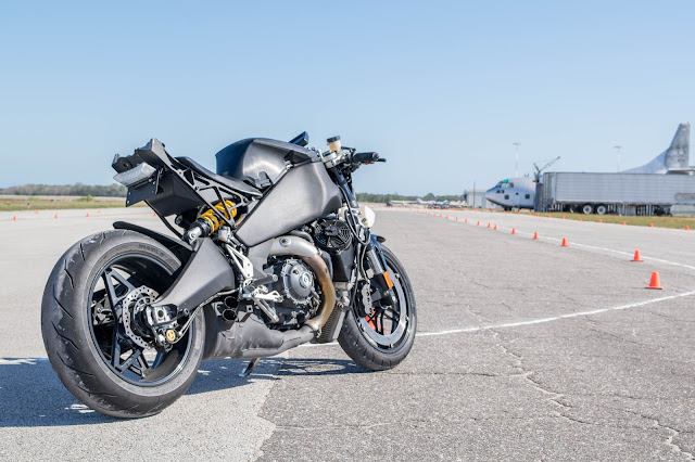2014 EBR 1190rx on airport race track