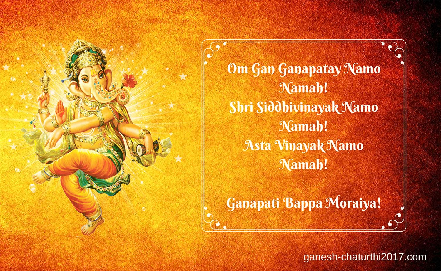 Ganesha Festival wishes in English