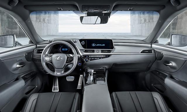 2019 Lexus ES arrives in Europe this summer