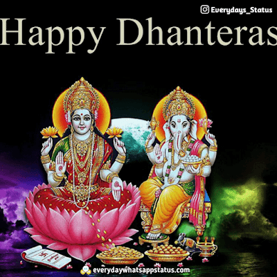 Dhanteras Greetings | Everyday Whatsapp Status | UNIQUE 50+ happy Dhanteras Inages Download