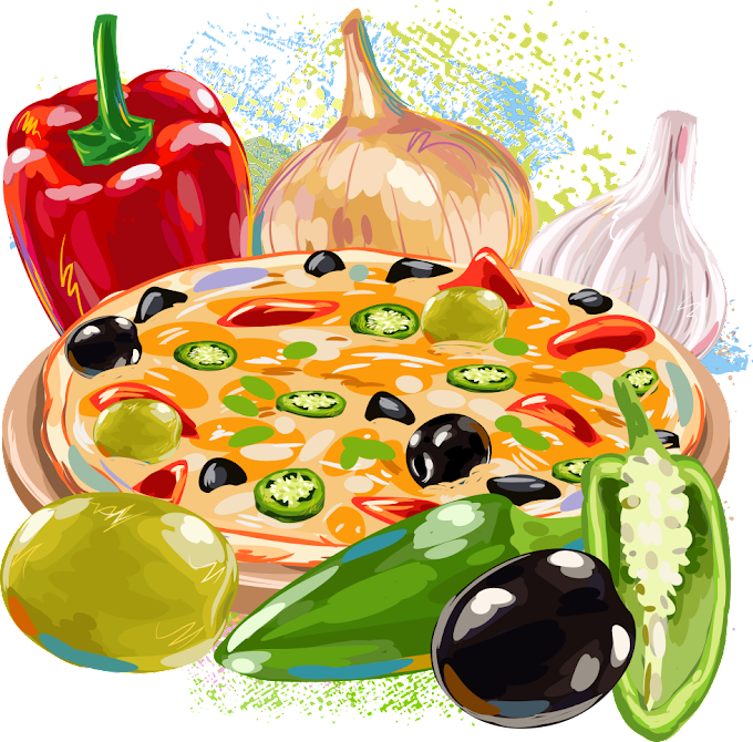 pizza, Pizza Hamburger Fast food, Pizza and vegetables, natural Foods, food png by: pngkh.com