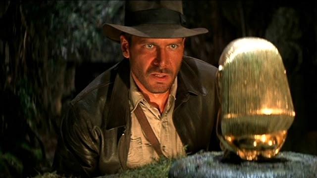 Harrison Ford como Indiana Jones en En busca del arca perdida (1981)