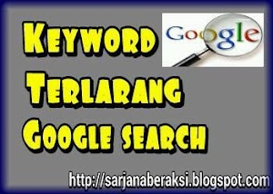 keyword terlarang di google search