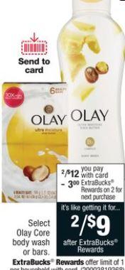 Olay Body Wash CVS Deal 9-13-9-19