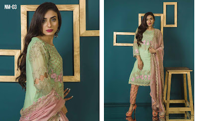 6 Mossii By Nawab Winter Dresses 2018
