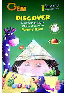 كتاب ديسكفر جيم الصف الأول الابتدائي الترم الثاني Gem Discover primary 1 second term