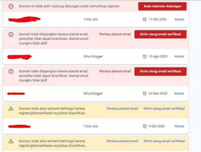 Domain Tidak Bisa Verifikasi di Google Domain