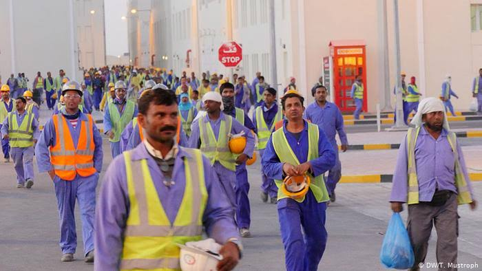 Foreign expatriate workers constitute a large majority in the labor market in all of the Gulf and with the growing problem of Corona virus