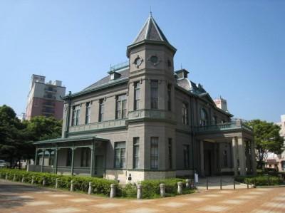 Balai Sipil Prefektur Fukuoka dan Guest House Kehormatan