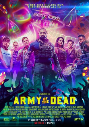 Army Of The Dead 2021 HDRip 480p Dual Audio 300Mb