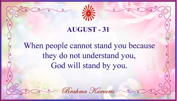 Thought For The Day August 31