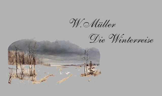Gedichte Und Zitate Fur Alle W Muller Die Winterreise Gute Nacht 1