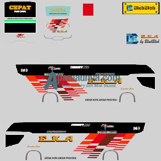 Download Livery Bus Eka Srikandi