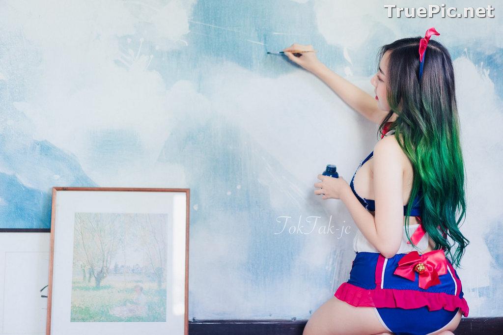 Image Thailand Model - Champ Phawida - Sailor Moon Lingerie - TruePic.net - Picture-8