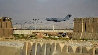 United States military left Afghanistan's Bagram airfield after nearly two decades