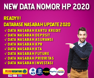 Download Database Nasabah KTA - JualData2020
