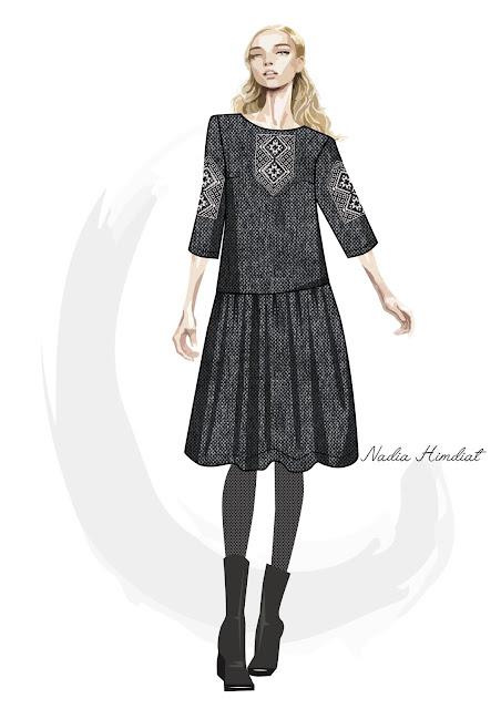 Платье. Модель PL-198