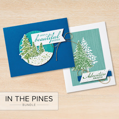 All-Occasions cards using In the Pines Stamp Set from Stampin' Up!