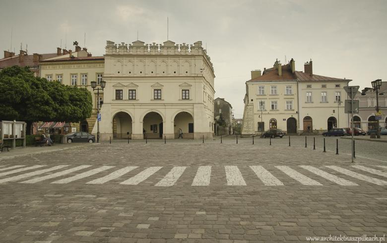 Jarosław - architektura pięknego miasta w województwie podkarpackim.