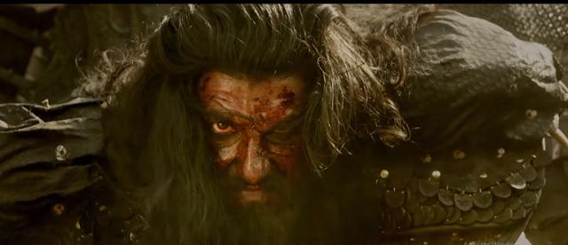 Ranveer Singh New Look as Sultan Alauddin Khilji Padmavati Movie HD Wallpapers Pictures