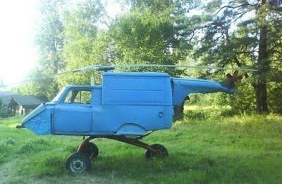 Le premier (et dernier) hélicoptère de marque Trabant