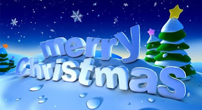 merry christmas winter scenes wallpaper