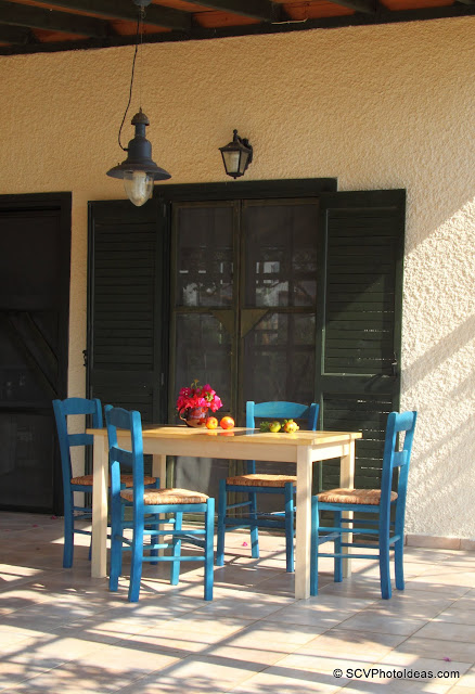 Summer house veranda table & chairs