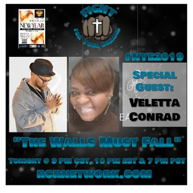 The Walls Must Fall with Veletta Conrad