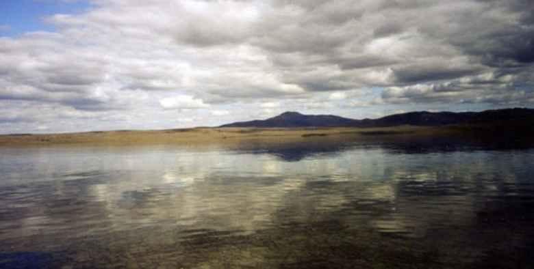 Heboh, 2 Masjid Ditemukan di Dasar Danau Labynkyr Siberia