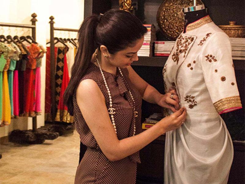 Life O Style Tisha Saksena Fashion Designer Biography
