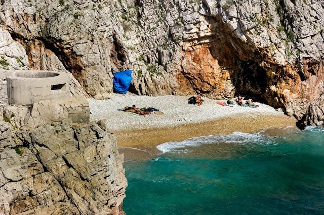Plaža Klančac Brseč