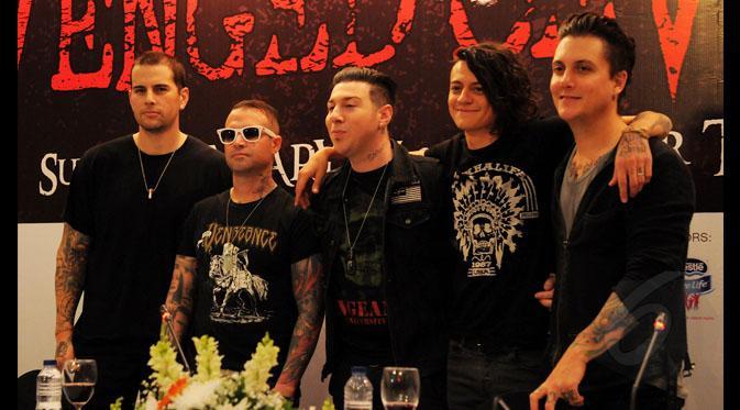 Lagu Terbaik Avenged Sevenfold, Konser Avenged Sevenfold, Personil Avenged Sevenfold