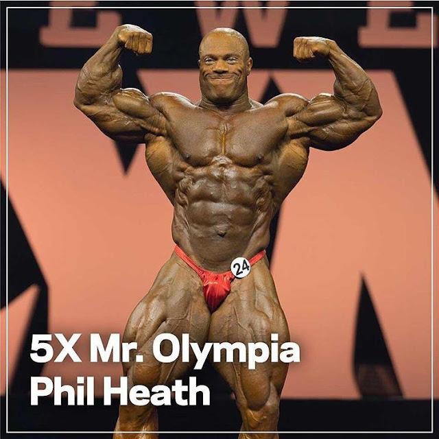 Phil Heath Mr. Olympia 2015