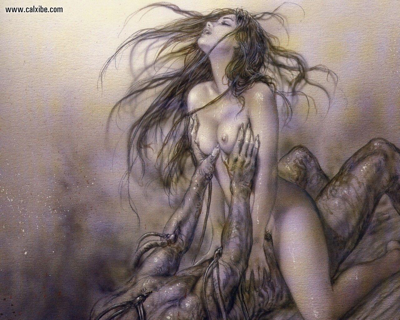 Erotic fantasy art 2 louis royo