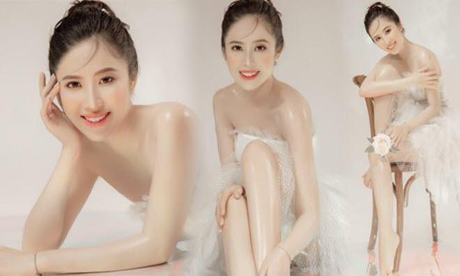 Nữ sinh gốc Thái Bình sở hữu vòng eo siêu nhỏ dự thi Hoa hậu Việt Nam 2020