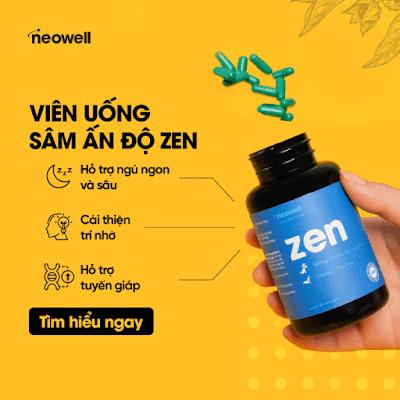 Viên uống giảm căng thẳng mệt mỏi neowell zen là gì