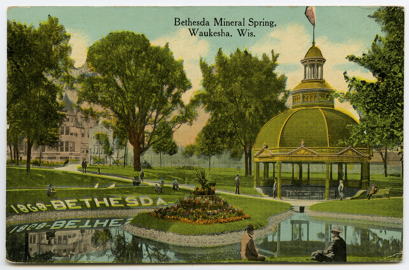 the wisconsin project found bethesda mineral spring waukesha wi