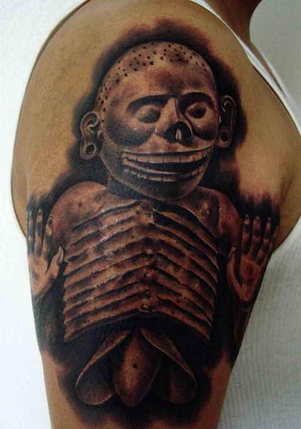 Tatuajes Aztecas Y Mayas Significado Gastatuajes