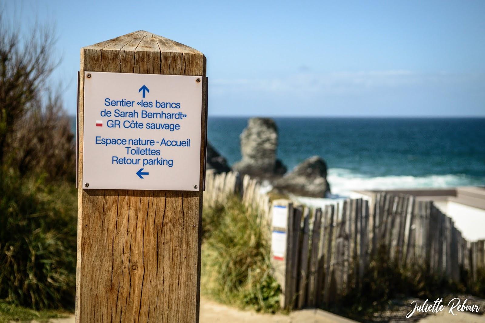 GR Côte sauvage à Belle Ile en Mer, Bretagne