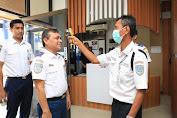 Mulai Senin Dishub Aceh Deteksi Suhu Tubuh Untuk Setiap Tamu Dan Pegawai