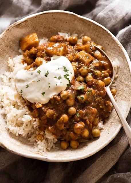 Chickpea Curry with Potato (Chana Aloo Curry)